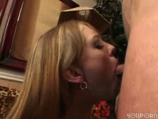 Blonde Hard Fuck And Deepthroat