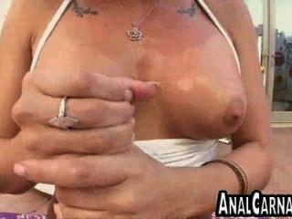 Pov Blowjob And Anal For Big Cock