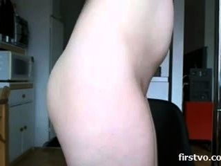 Wicked masturbation session of a blonde webcam model