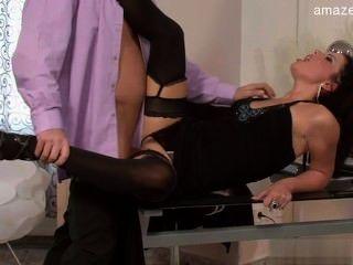Toilet slave femdom mistress wife