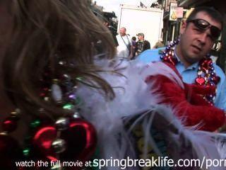 Mardi Gras Street Action