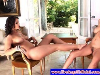 Eve Angel And Jelena Jensen Show Feet Off