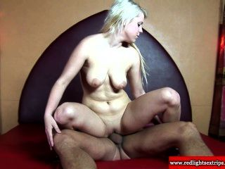 Real Blonde Prostitute Gets Cumshot After Getting Fucked