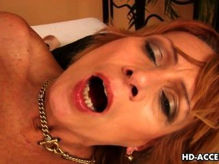 Hot Mature Lady Tastes A Teen Cock.