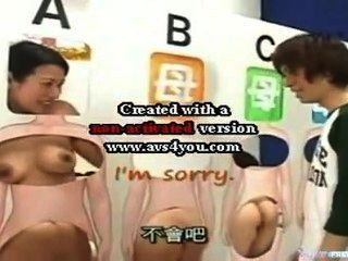 Son Gives Mom Creampie Babymaker In Japanese Gameshow