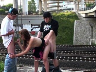 Beautiful Teen Girl In Public Swx Threesome Part 4