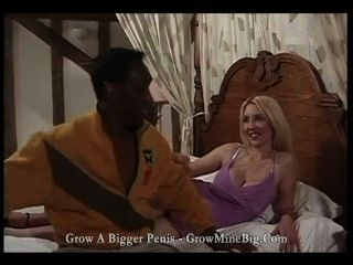 Big Tittied Blonde Gets Rammed By A Huge Black Cock