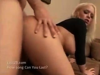 Hot Blonde Busty Slut Fucked Like A Whore