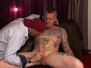 Redneck Straight Boy Lets Me Blow Him.