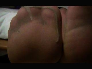 Feet Sniffing Handjob Nylonmum