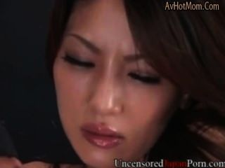 Uncensored Japanese Milf Fingered And Fucked In Hairy Pussy