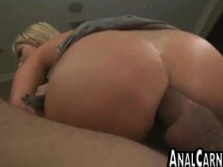 Tall Blonde Milf Gets Ass Fucked By A Big Cock