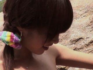 Guradoru Vol 057 Hajimete Beach De H Shichaimashita - Scene 2