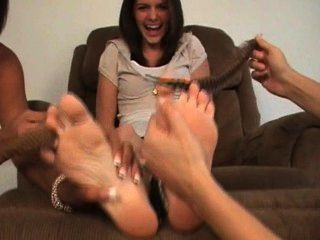 Michelle Foot Tickled