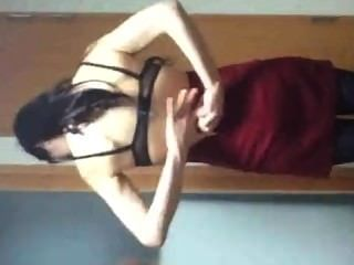 Dumb Fuck Camera Man Records Hot Korean Slut Sideways Neck Breaker