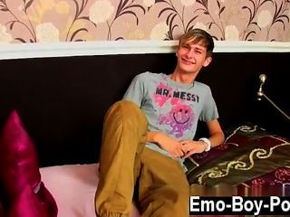 Amazing Twinks Connor Levi Is One Slender And Handsome British Boy Who