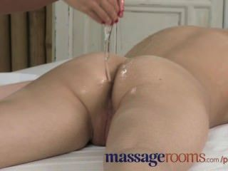 Massage Rooms Shy Innocent Teen Experiences First Time Lesbian Orgasm