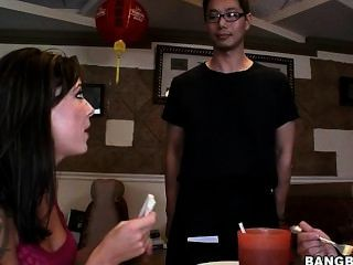 Amwf White Women Interracial With Asian Guy