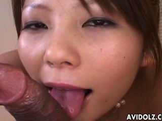 Cute Girl Sayaka Minami Sucks A Dong Uncensored