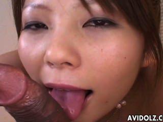 Cute Girl Sayaka Minami Sucks A Dong Uncensored