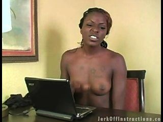 Jerk Off Instructions Ebony