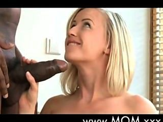 Blonde Milf Enjoy Black Cock