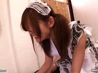 Japanese Girls Enchant Sexy Secretariate In Bath Room.avi