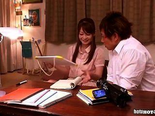 Japanese Girls Masturbated With Nice Teacher At Home.avi