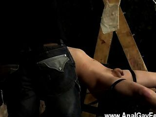 Hardcore Gay Sucked To Firmness And Dripped With Super-steamy Wax, Our