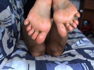 Feet Soles Sweat Vivi