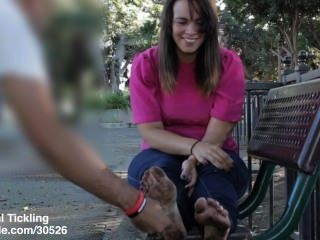 Jessica Dirty Feet Tickled 1