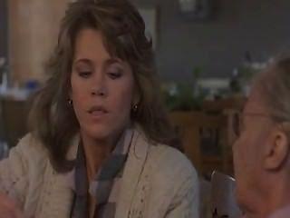 Jane Fonda Smokes