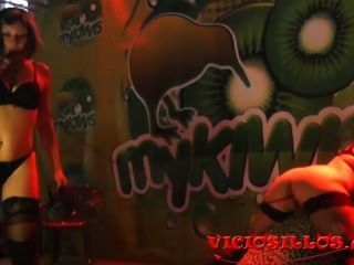 Dana Rico Y Soraya Wells Lesbian Show In Sem By Viciosillos.com