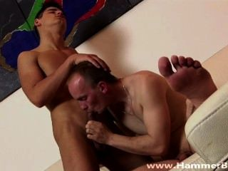 Older Vs Young Peter Stary And Lucio Barese From Hammerboys Tv