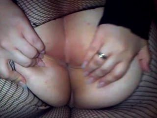 Young Girl Showing Her Ass And Playing With Her Big Dildo