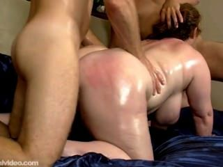 Threesome With A Fat Slut