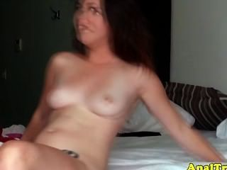 Girlfriend Drilled In Tight Asshole