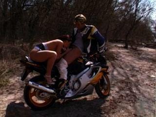 Motorcycle Rider Gets A Reward