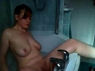 Amateur Girl Big Tits Has Orgasm In Bathtub