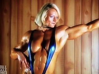 Huge Female Bodybuilder Brigita Brezovac