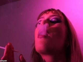 Girl Smoking So Hot (no Sex)