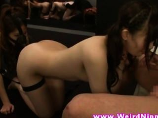 Japanese Amateur Giving Blowjob