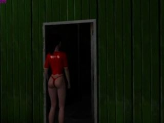 3d Red Hot Girl Gets Fucked By Creature