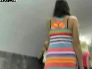 Colorfull Upskirt