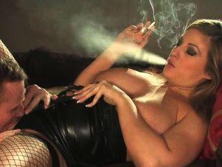 Ashley Downes Smoking And Fucking