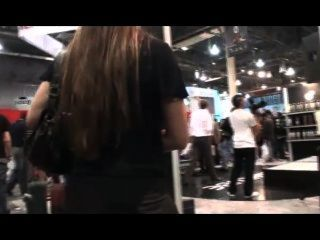 Amber Chase At The Avn Expo 2010