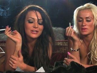 Jenna And Danni Smoking Interview