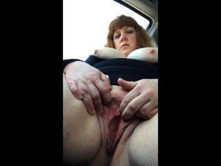 Alayne In The Car
