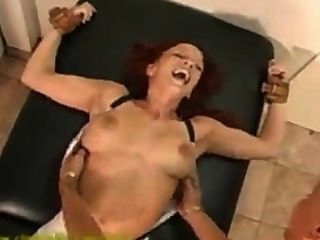 Feisty Girl Tied And Tickled