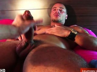 Ass Massage, Cock Massage To Athletic Latino Guy With Huge Cock !